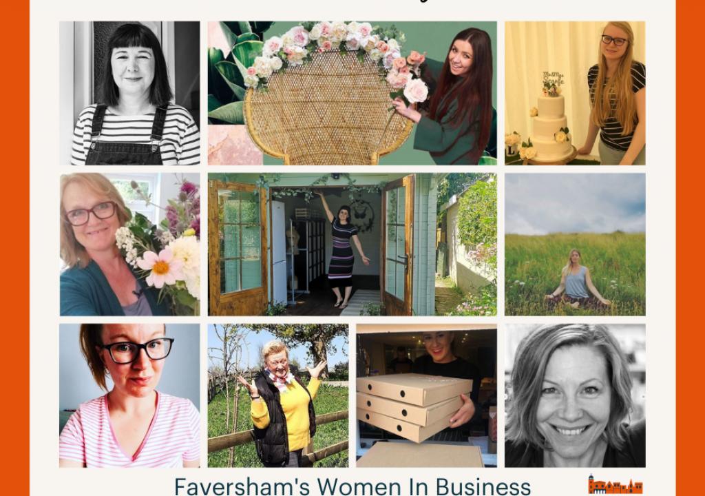 Faversham's amazing business women.
